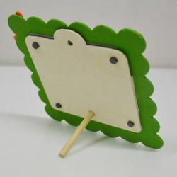 - Ahşap Mıknatıslı Yeşil Çocuk Çerçevesi (1)
