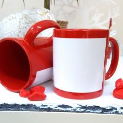 - Çerçeveli Kırmızı Kupa Bardak (1)