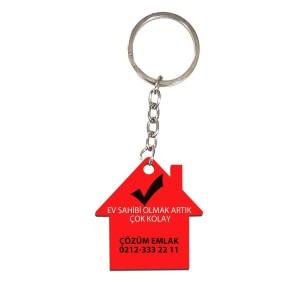- Çift Taraflı Ev (Hdf) Mdf Anahtarlık MDA-11