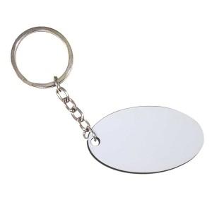 - Çift Taraflı Oval (Hdf) Mdf Anahtarlık MDA-10 (1)