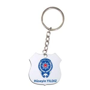 - Çift Taraflı Polis (Hdf) Mdf Anahtarlık MDA-12