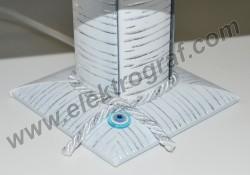 - Dönen Abajur 15x20 Çerçeve-5 (Mavi Boncuk) (1)