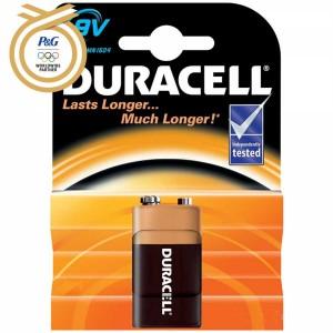- Duracell 9V Alkalin Pil