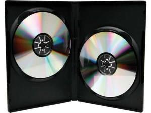- Dvd Kutusu 14mm Çiftli Siyah