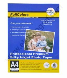 - Fullcolor Parlak A4 İnkjet Kağıt 270 gr.