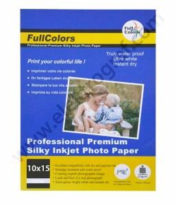 - Fullcolor Parlak 10x15 İnkjet Kağıt 270 gr.