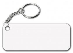 - İnce Metal Anahtarlık Dikdörtgen (1)