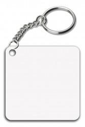 - İnce Metal Anahtarlık Kare (1)