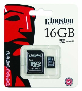 - Kingston Micro Sd 16GB Hafıza Kartı