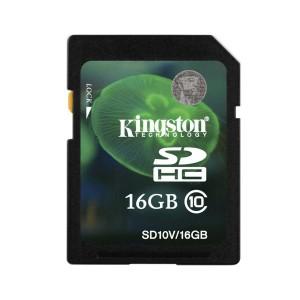 - Kingston Sd 16GB Class 10 Hafıza Kartı