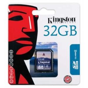 - Kingston Sd 32GB Hafıza Kartı