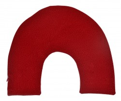 - Kırmızı Kadife Boyun Yastık Kılıfı