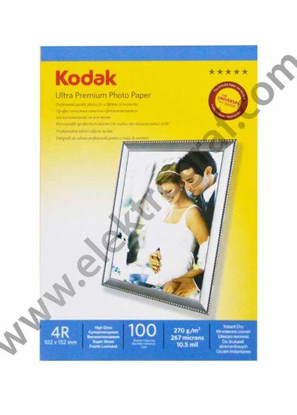Kodak Parlak 10x15 İnkjet Kağıt 270 gr.