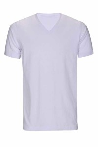 - Micro Polyester V Yaka T-shirt (ERKEK) L