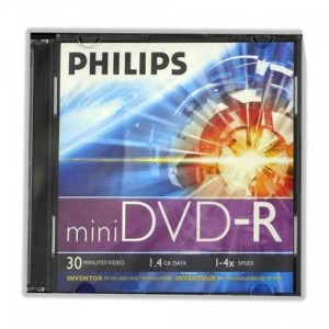- Philips Mini DVD-RW