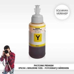- Photo İnk Epson Uyumlu Solmayan Mürekkep(Yellow)