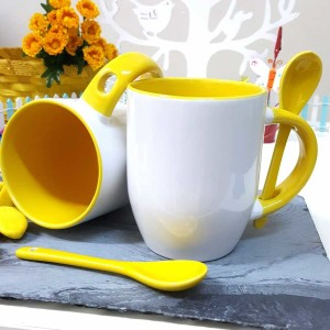 - Sarı Kaşıklı Kupa Bardak (1)