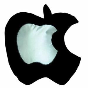 - Siyah Elma Yastık Kılıfı