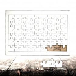 - Ahşap Puzzle A3 Dikdörtgen