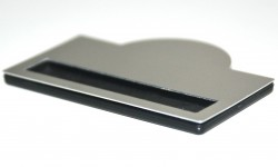 - Metal Yaka İsimlik Gümüş 5x7cm (1)