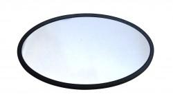 - Metal Yaka İsimlik Gümüş 4x7cm