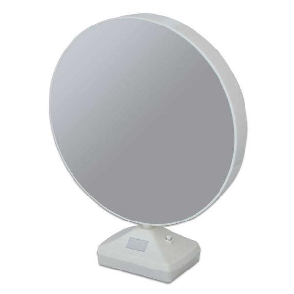 Yuvarlak Ledli Ayna Fotoğraf Çerçevesi