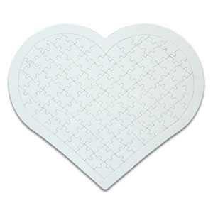 - A4 Kalp Puzzle 97 Parça (1)
