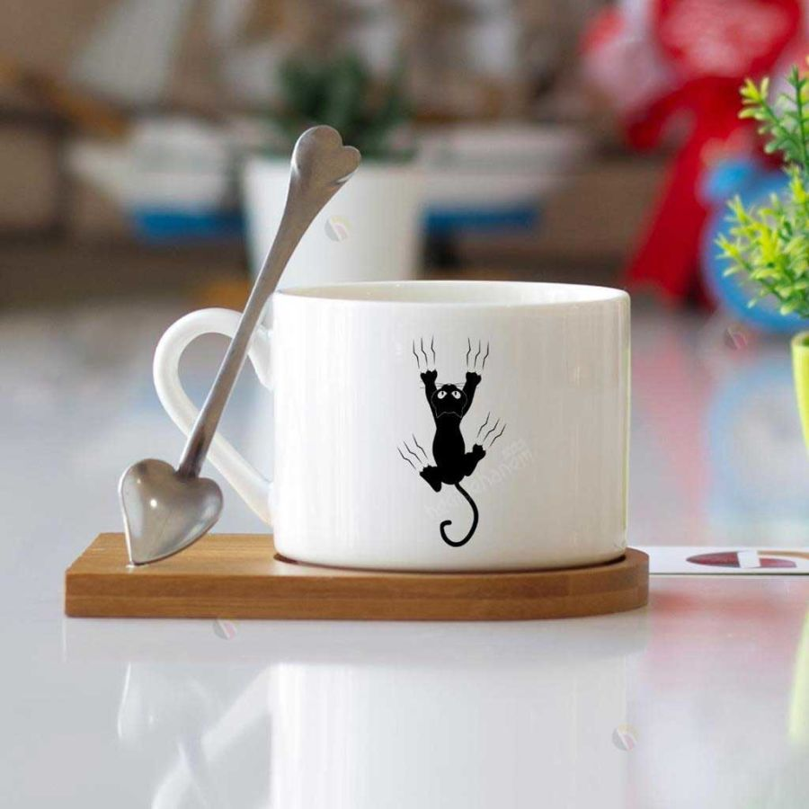 - Ahşap Altlıklı Kahve Fincanı
