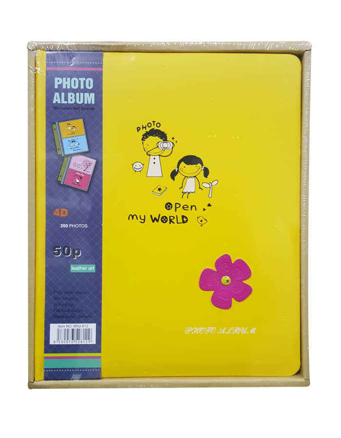 Deri Fotoğraf Albümü 10x15 200'lü MX2-81