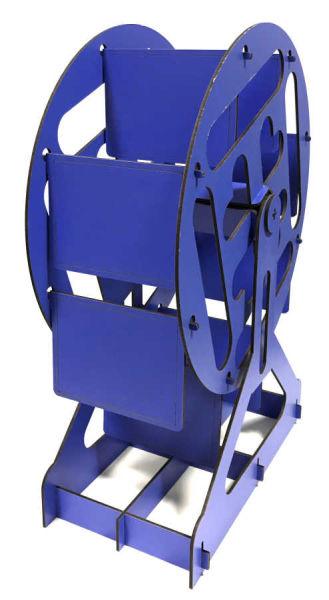 - Dönme Dolap Fotoğraf Çerçevesi Mavi