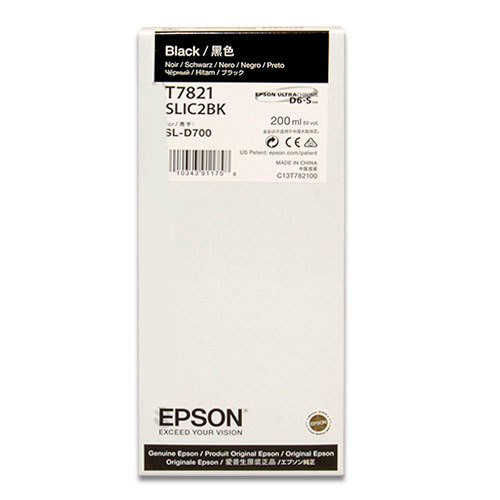 - Epson T7821 D700 Mürekkep Siyah