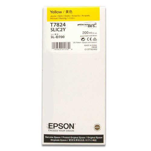 Epson T7824 D700 Mürekkep Sarı