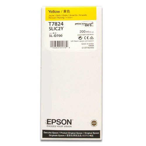 - Epson T7824 D700 Mürekkep Sarı