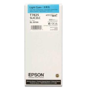 - Epson T7825 D700 Mürekkep Açık Mavi