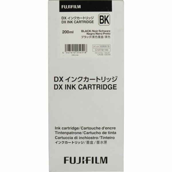 - Fuji Frontier-s DX-100 Kartuş Black 200ML.