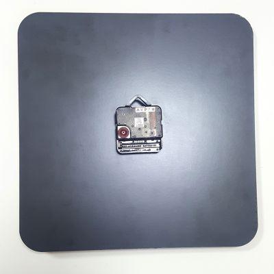 - (Hdf) Mdf Duvar Saati Kare 20cm DS-01 (1)