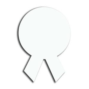 (Hdf) Mdf Yaka İsimlik Kurdela 3,5x5cm - Thumbnail