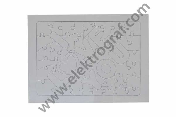 - I Love You A4 Puzzle (1)