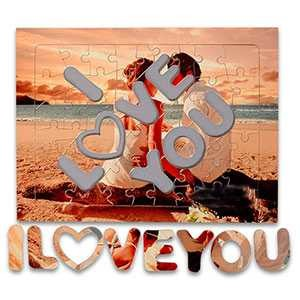 - I Love You A4 Puzzle