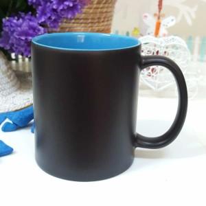 - İçi Mavi Sihirli Kupa Bardak