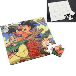 - Kare (Hdf) Mdf Puzzle 25 Parça