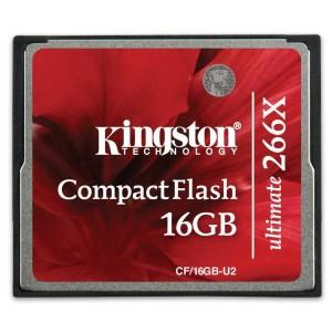 - Kingston Cf 16GB 266X Hafıza Kartı