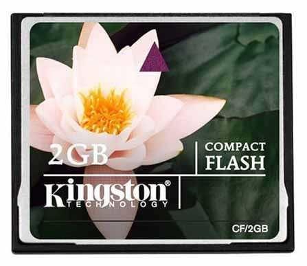 - Kingston Cf 2GB Hafıza Kartı