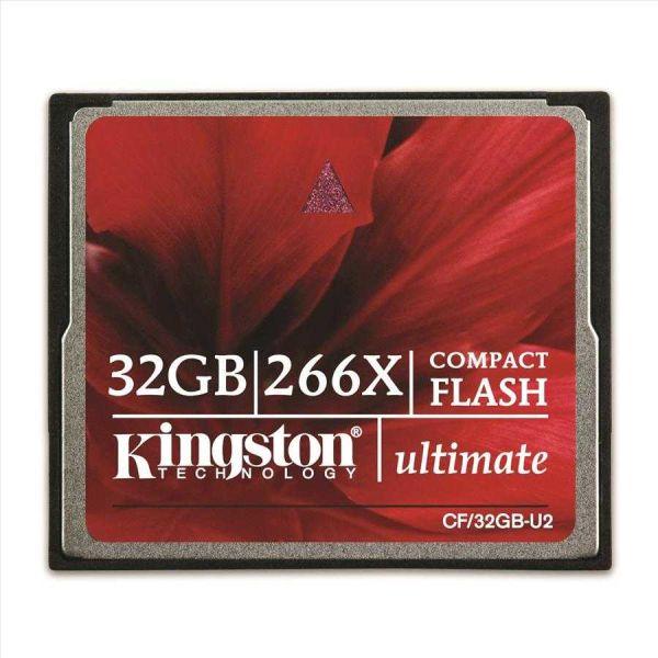 - Kingston Cf 32GB 266X Hafıza Kartı