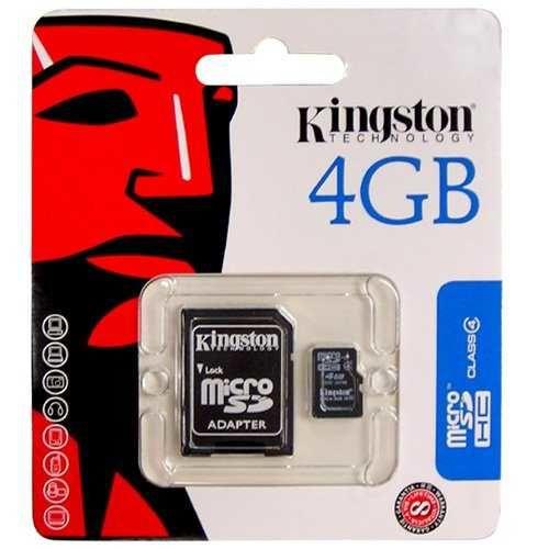 - Kingston Micro Sd 4GB Hafıza Kartı