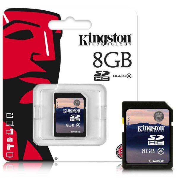 - Kingston Sd 8GB Hafıza Kartı