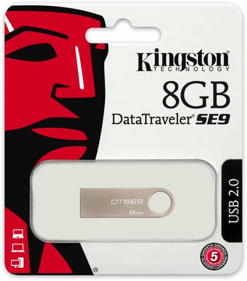 Kingston Usb 8GB Metal Bellek