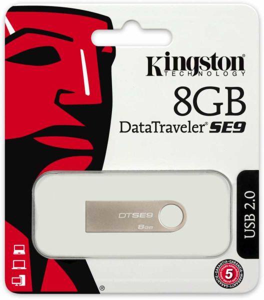 - Kingston Usb 8GB Metal Bellek