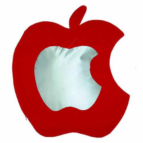 Kırmızı Elma Yastık Kılıfı