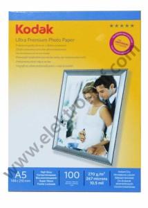 - Kodak Parlak 15x21 İnkjet Kağıt 270 gr.